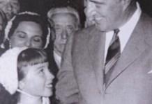 Adrianita con Vttorio De Sica