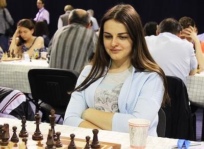 La ajedrecista bielorrusa, Lanita Stetsko, una de las firmantes del manifiesto de apoyo a la oposición