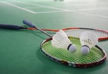 badminton raquetas