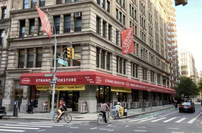 Librería Strand de Nueva York