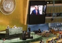 ONU Trump videoconferencia