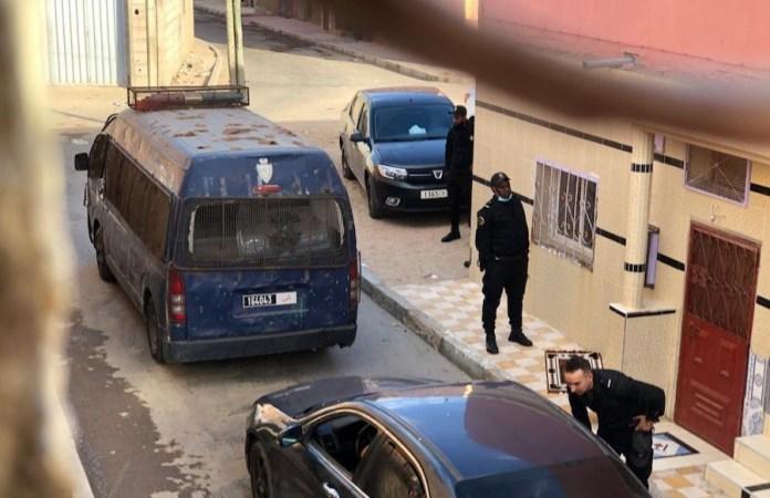 fuerzas de seguridad rodean la casa del presidente de Equipe Media
