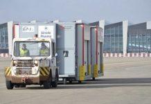 El aeropuerto de Bruselas-Zaventem ya completó los preparativos para ser el centro logístico de la compleja distribución de vacunas a toda la Unión Europea, tras recibir la aprobación de la Agencia Europea del Medicamento. Foto: Aeropuerto de Bruselas