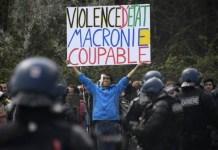 Violencia policial en Francia