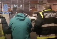 Policia Nacional detiene asesino ecuatoriano