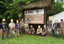 Formación de agentes forestales en la reserva de Limoncocha en Ecuador