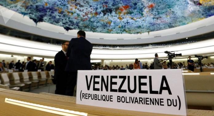 Representación de Venezuela en la sede del Consejo de Derechos Humanos de Naciones Unidas en Ginebra