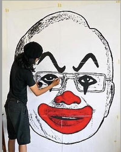 Fahmi Reza caricatura Najib Razak