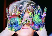 niños creatividad colores