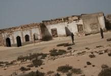 Restos de la localidad fantasma de La Guera