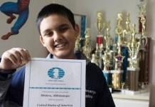 Abhimanyu Mishra Maestro Internacional de ajedrez