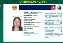 Ficha Interpol Peru España