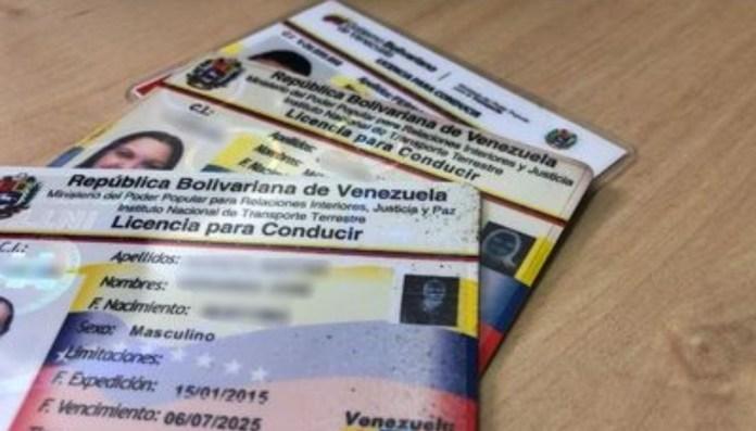 Venezuela carné conducir