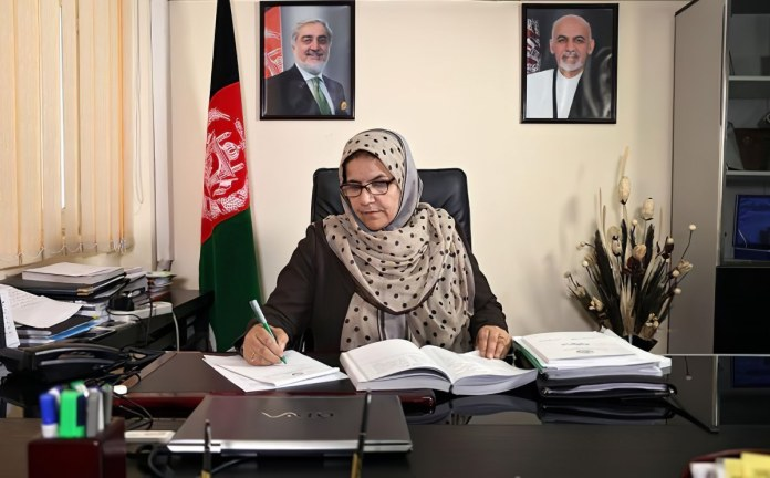 Anisa Rasooli primera magistrada Tribunal Supremo Afganistán 2018