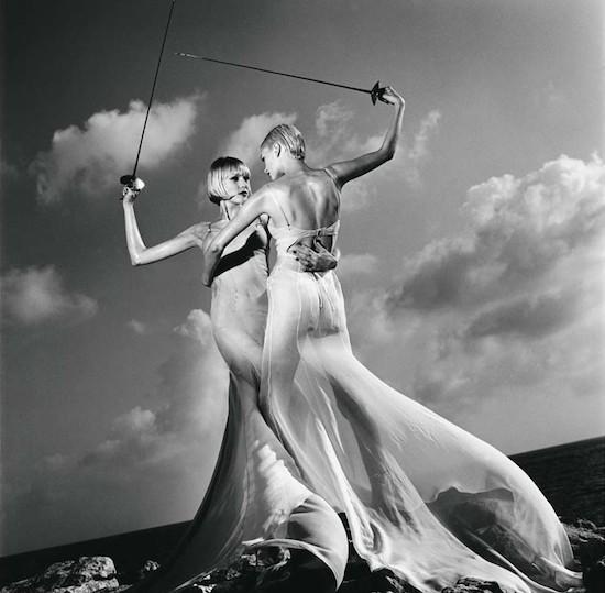 Helmut Newton. US Vogue. Mónaco, 1996. © Helmut Newton Estate