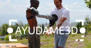 Ayúdame 3D, la ONG que imprime felicidad