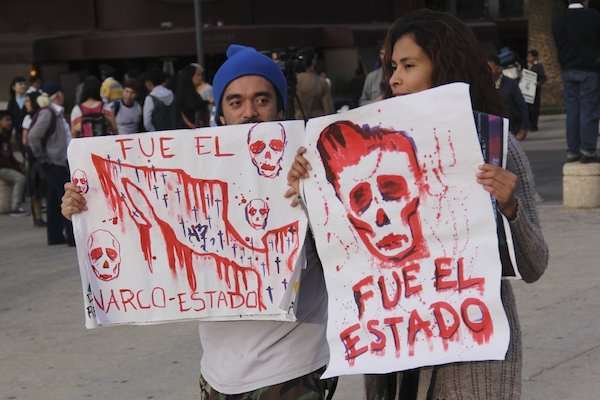 Ayotzinapa protestas