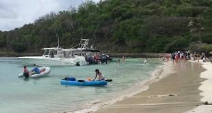 Isla caribeña de Mayreau: amenazada de dividirse en dos por la erosión