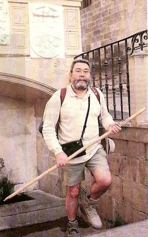 Cándido Méndez en la Fuente de los Peregrinos Foto: archivo de UGT
