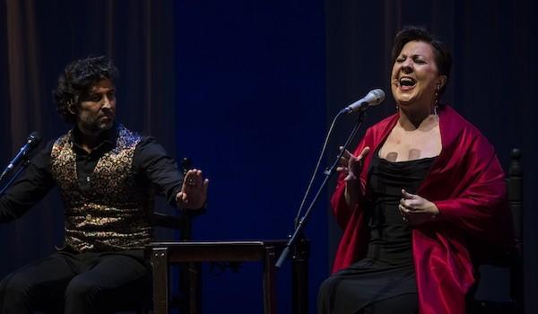 Carmen Linares y Arcángel Foto David Mudarra_