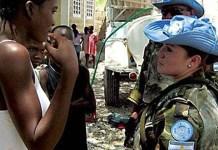 Cascos azules argentinos en Haiti