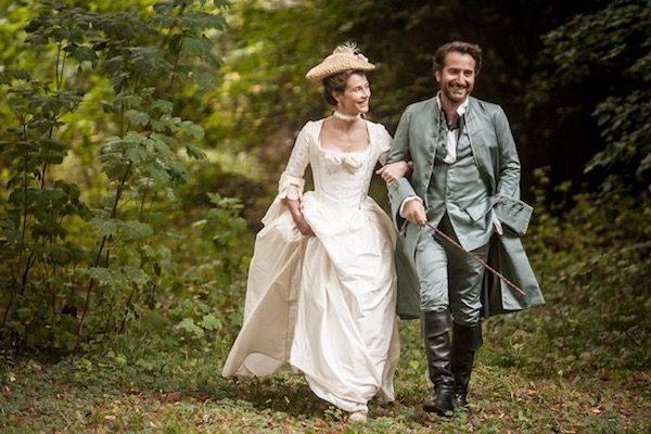 """Cecile de France y Edouard Baer en una escena de """"Mademoselle de Joncquieres"""""""