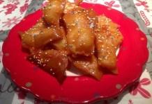 Cocinara: tortas gitanas de Nochebuena en el plato