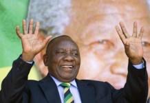 Cyril Ramaphosa elegido presidente de Sudáfrica el 15 de febrero de 2018