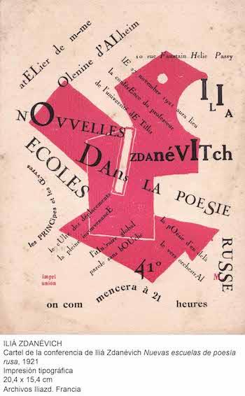 Dadaismo Iilia Zdanevich