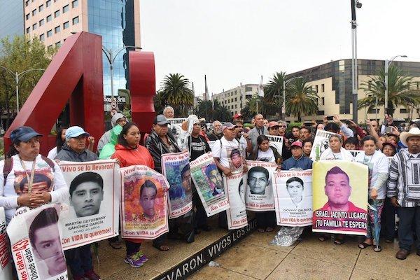 Desaparecidos en México, movilizaciones familiares