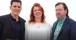 Dillon Keough y Lars Von Trier Cannes 2018