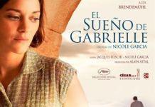 El sueño de Gabrielle, cartel
