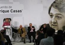 Acto político en recuerdo de Enrique Casas