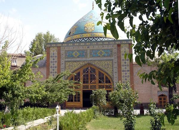 Mezquita Azul de Ereván.