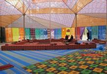 Las Culturas de la jaima de Federico Guzmán en el Palacio de Cristal