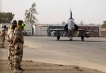 Aviones franceses contra el Dáesh en Siria