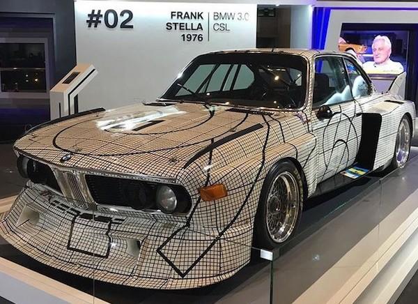 Frank stella BMW 3.0 CLS