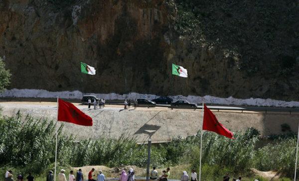 Frontera entre Marruecos y Argelia