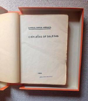 Manuscrito de Cien años de soledad. Foto: Universidad de Texas