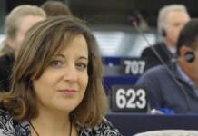 Iratxe Garcia, eurodiputada española por el PSOE
