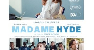 Isabelle Huppert es Madame Hyde cartel