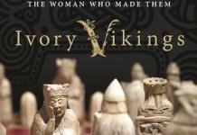 Portada del libro 'Ivory Vikings' de Nancy Marie Brown sobre las piezas de Lewis.