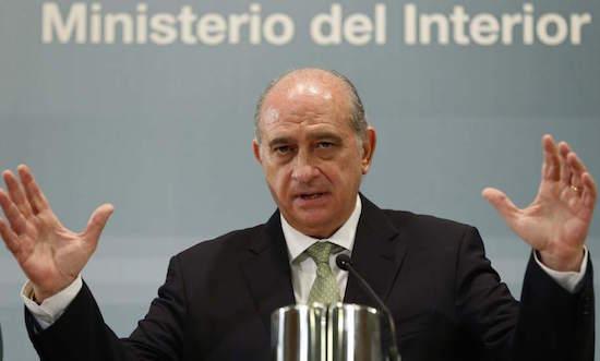 Jorge Fernández Díaz, ministro del Interior con Mariano Rajoy