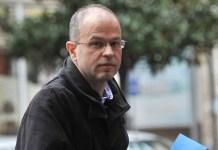 El periodista montenegrino Jovo Martinovic.