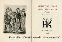 """Libro de la exposición """"Cien años leyendo a Kafka"""""""