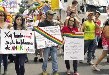 """Imagen extraída de nota de prensa titulada """"Defensoría: """"Las personas LGBT siguen sufriendo discriminación en la peor magnitud en Costa Rica"""" (Prensa Libre, edición del 22.06.2015)"""