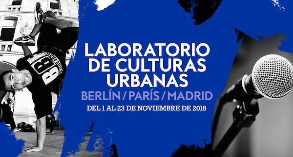 Laboratorio culturas urbanas 2018