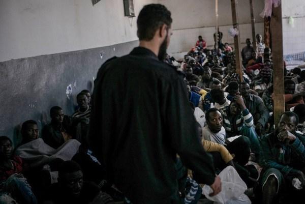 Libia centro detencion MSF