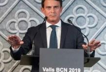 Manuel Valls presenta su candidatura a la alcaldia de Barcelona