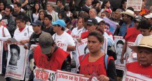 Marcha por los desaparecidos en México